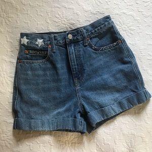 GAP Mom Style Denim Shorts